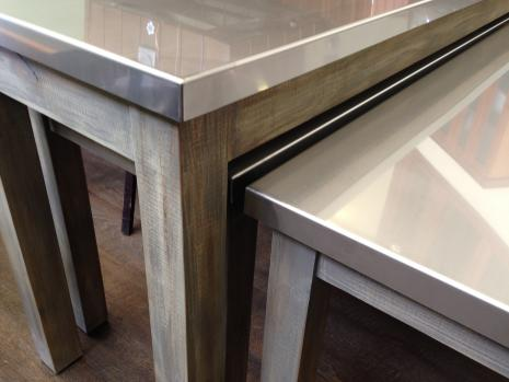 MillFinish Stainless Steel Tables Rambo Fixture Company - Stain steel table